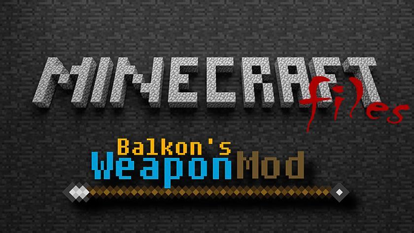 Balkon's Weapon - много разного оружия