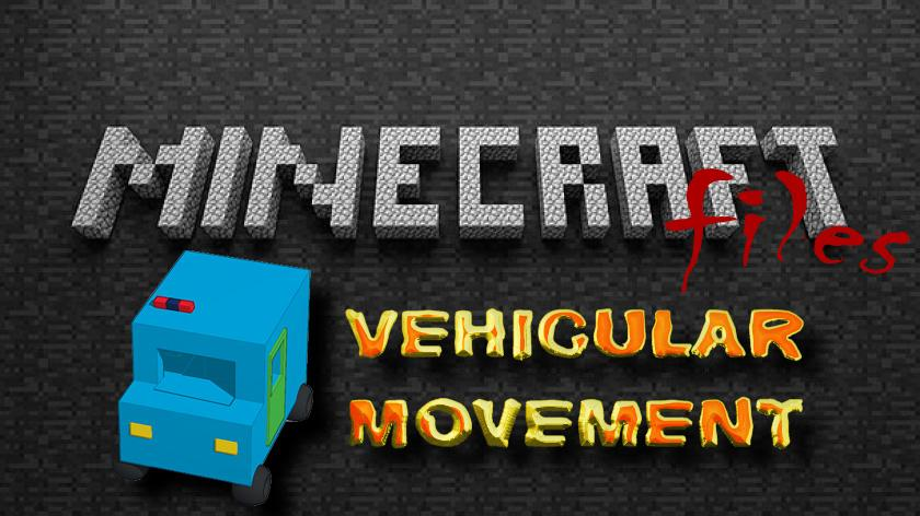 Vehicular Movement - мод на машины
