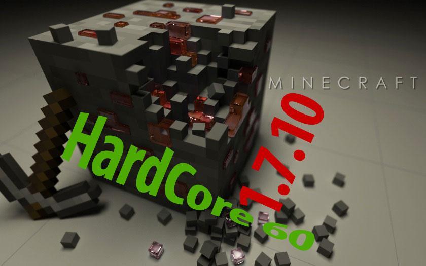 Майнкрафт 1.7.10 с 60 модами, индустриальные, только хардкор