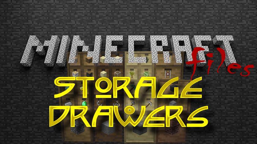 Storage Drawers - мод на шкафы