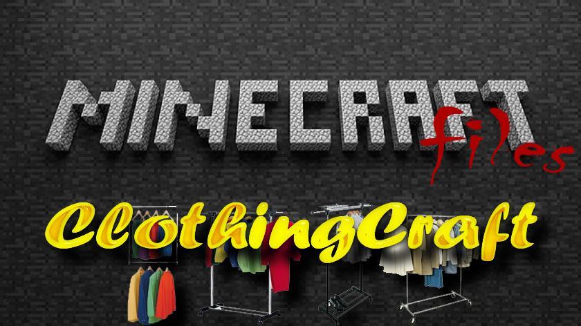 ClothingCraft - мод на одежду