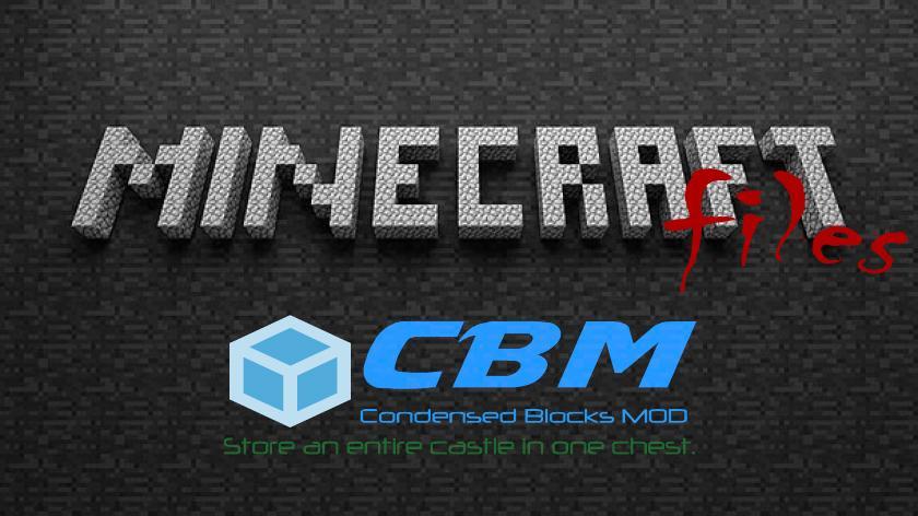 Condensed Blocks - супер сжатые блоки
