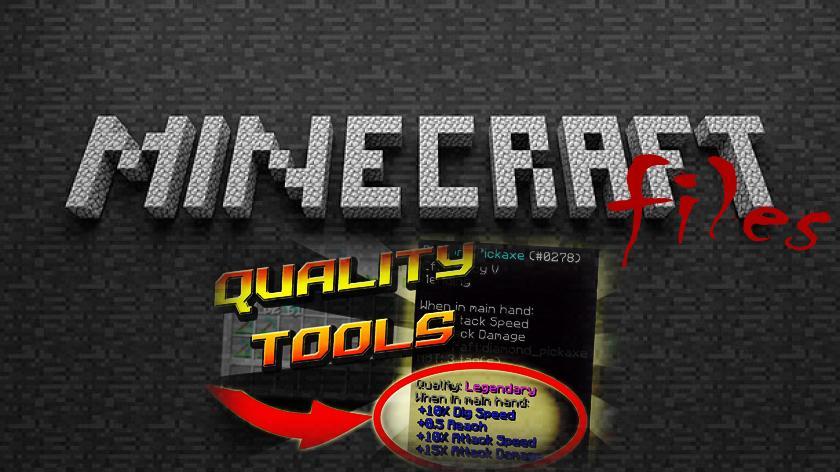 Quality Tools - мод на инструменты и оружие