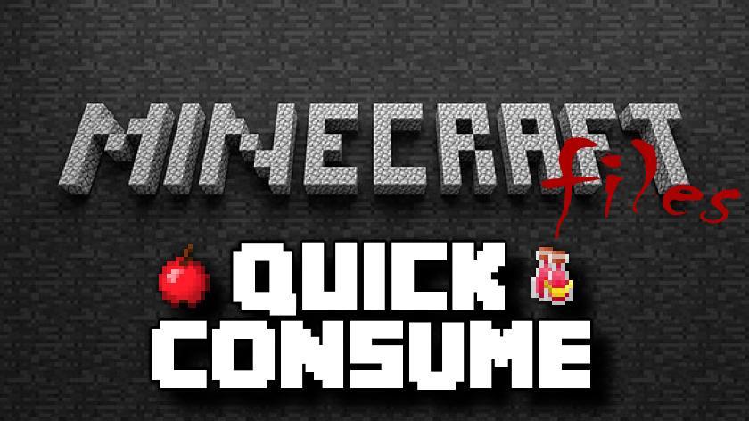 Quick Consume - слоты для еды