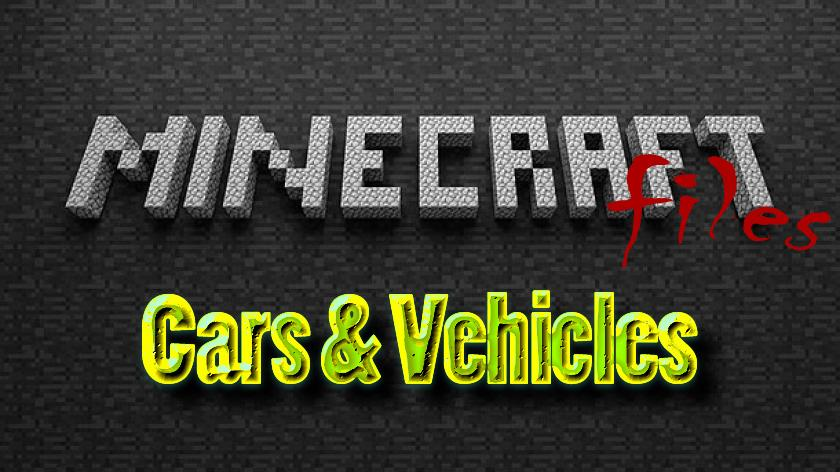 Cars & Vehicles - мод на машины