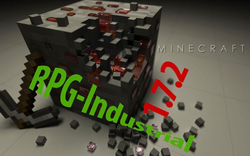 RPG-индустриальная сборка Майнкрафт 1.7.2 с шейдерами и ресурс-паками